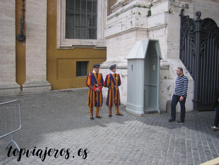 Guardia Suiza San Pedro Vaticano
