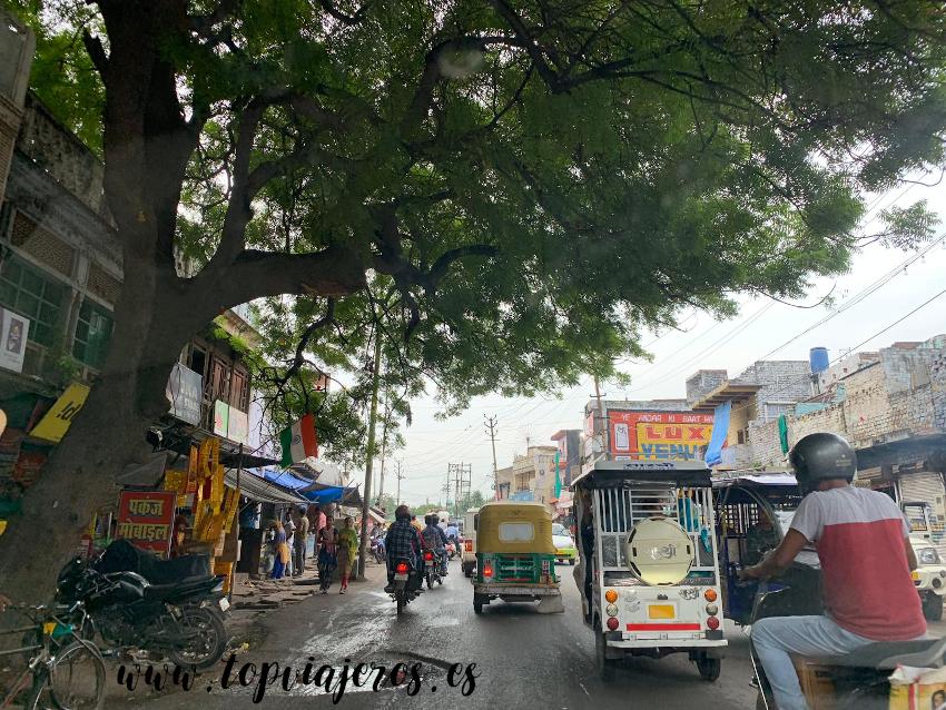 Trafico en Agra