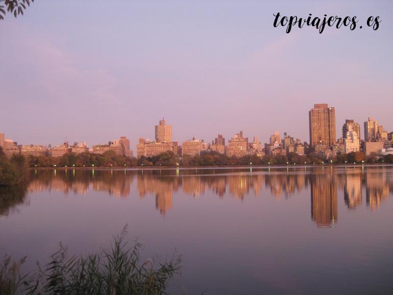 Lago Jacqueline Kennedy Central Park Nueva York